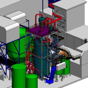 détail 3d structure