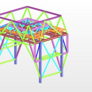 structure vue 3d